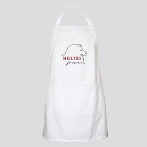 Shelties Forever BBQ Apron