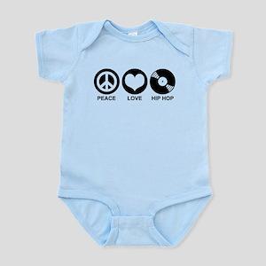 Peace Love Hip Hop Infant Bodysuit
