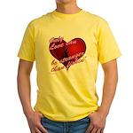stranger than fishin' Yellow T-Shirt