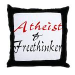 Atheist and Freethinker Throw Pillow