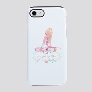 Cute Ballerina Girl Personalized iPhone 8/7 Tough