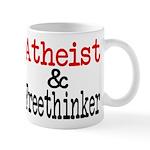 Atheist and Freethinker Mug