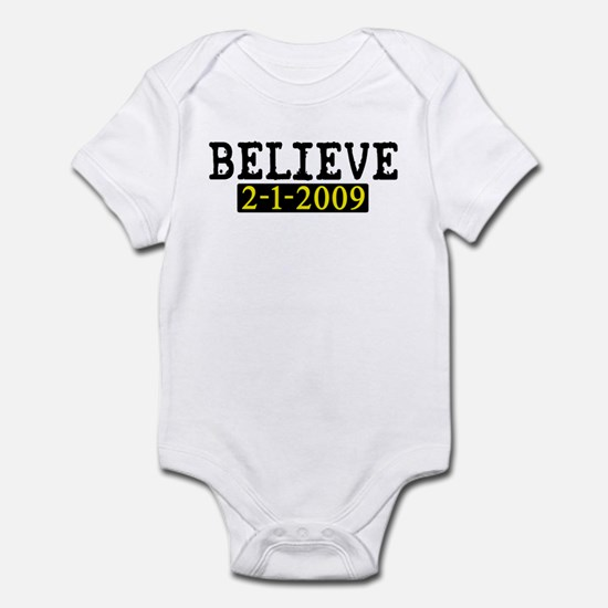Believe (Steelers) Infant Bodysuit