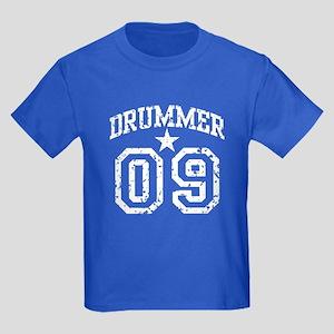 Drummer 09 Kids Dark T-Shirt