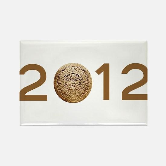 Mayan Calender 2012 Rectangle Magnet
