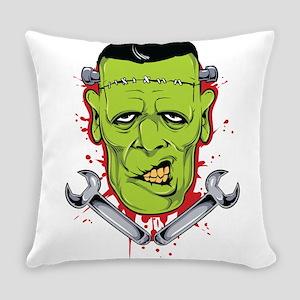 Frankenstein Mechanic Everyday Pillow