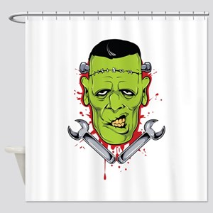 Frankenstein Shower Curtains Cafepress