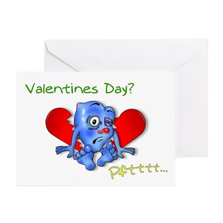 """Beaten Heart"" Greeting Cards (Pk of 10)"
