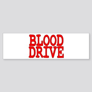 Blood Drive Bumper Sticker