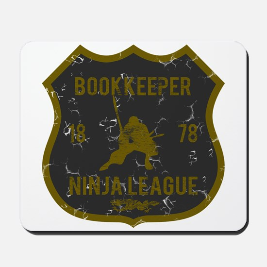 Bookkeeper Ninja League Mousepad