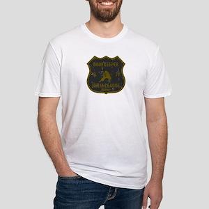 Bookkeeper Ninja League Fitted T-Shirt