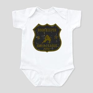Bookkeeper Ninja League Infant Bodysuit