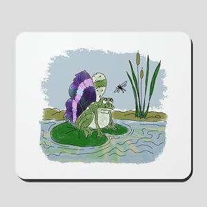 Winged Frog Mousepad