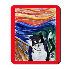 Kitty Scream Mousepad