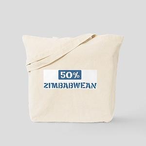 50 Percent Zimbabwean Tote Bag