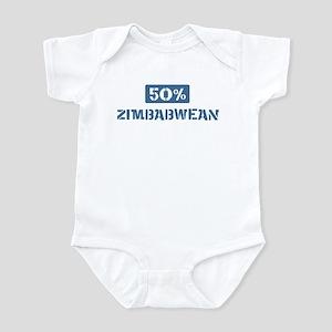 50 Percent Zimbabwean Infant Bodysuit