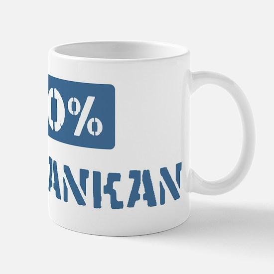 50 Percent Sri Lankan Mug