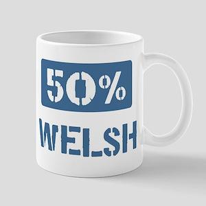 50 Percent Welsh Mug