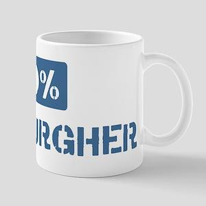 50 Percent Pittsburgher Mug