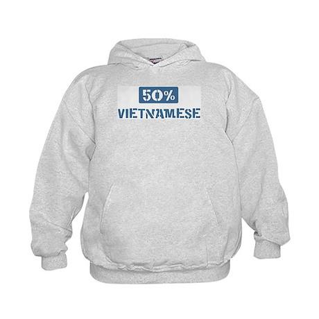 50 Percent Vietnamese Kids Hoodie