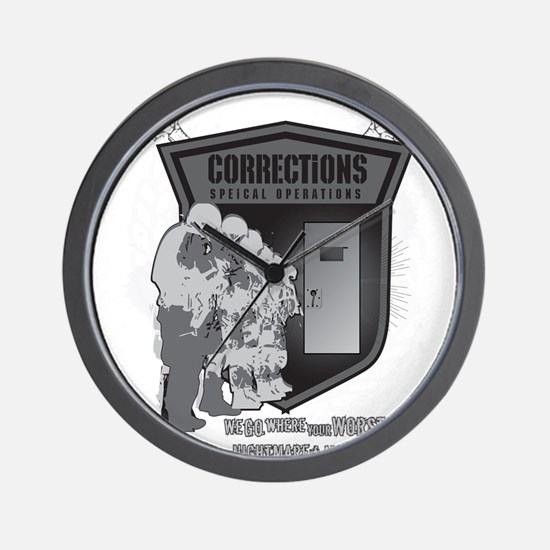 Corrections Special Operation Wall Clock