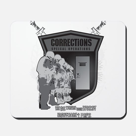 Corrections Special Operation Mousepad