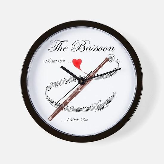 The Bassoon Wall Clock