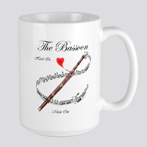 The Bassoon Large Mug