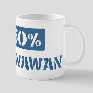 50 Percent Okinawan Mug