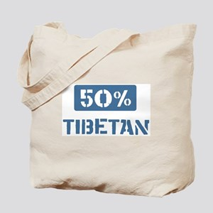 50 Percent Tibetan Tote Bag