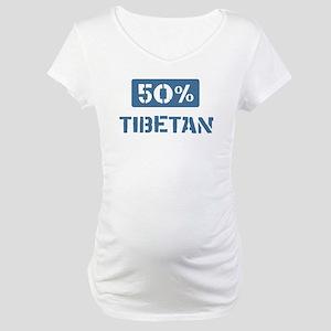 50 Percent Tibetan Maternity T-Shirt