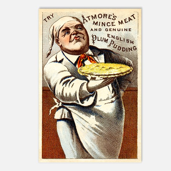 Unique Culinary Postcards (Package of 8)