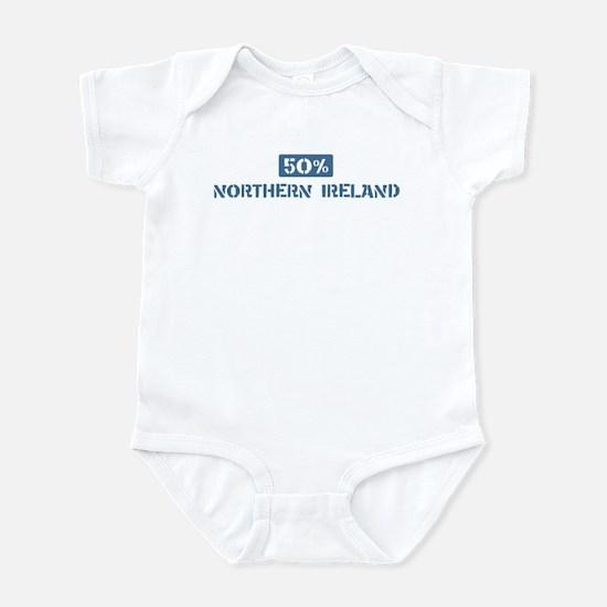 50 Percent Northern Ireland Infant Bodysuit