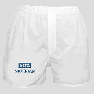 50 Percent Nigerian Boxer Shorts