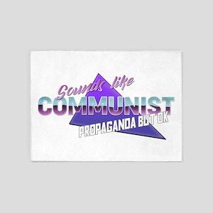 Sounds like communist propaganda bu 5'x7'Area Rug