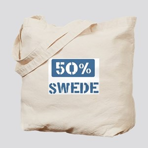 50 Percent Swede Tote Bag