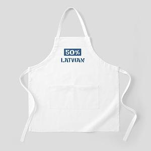 50 Percent Latvian BBQ Apron