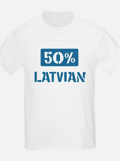 50 Percent Latvian T-Shirt