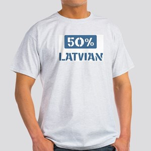 50 Percent Latvian Light T-Shirt