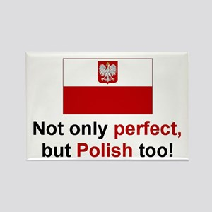 Perfect Polish Rectangle Magnet