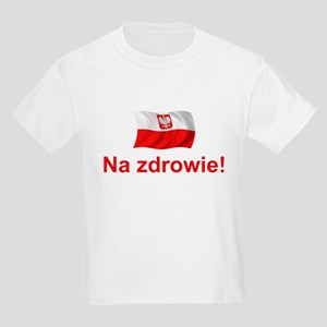 Polish Na zdrowie Kids Light T-Shirt