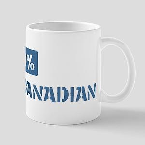 50 Percent French Canadian Mug