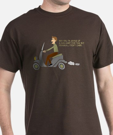 Scooter Retro Boy T-Shirt