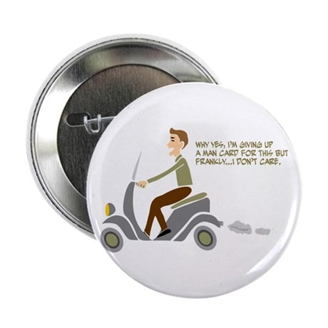 "Scooter Retro Boy 2.25"" Button"