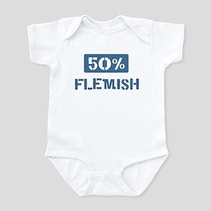50 Percent Flemish Infant Bodysuit