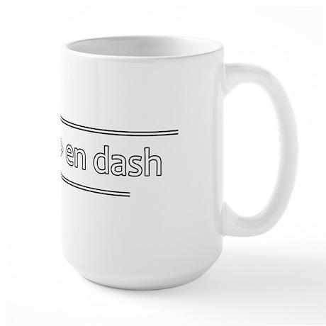 Punctuation Geek - Large Mug