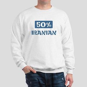 50 Percent Iranian Sweatshirt
