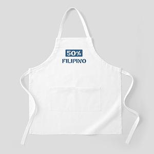 50 Percent Filipino BBQ Apron