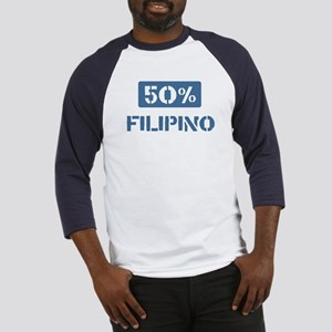 50 Percent Filipino Baseball Jersey