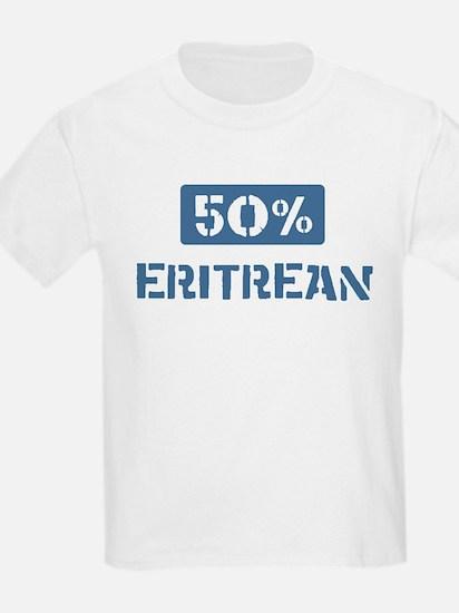 50 Percent Eritrean T-Shirt